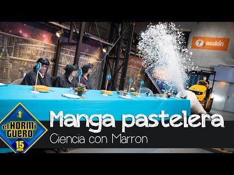 Marron conquista a Alberto Chicote con la manga pastelera más grande del mundo – El Hormiguero