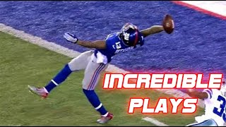 NFL Unbelievable Plays Part 1 (Best Plays Ever)