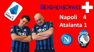 Napoli Atalanta 4 1 live reactions - CHE RULLATA