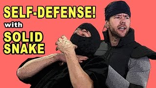 SELF DEFENSE with SOLID SNAKE
