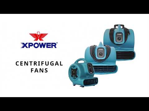 XPower Air Mover  1 HP 3600 CFM Model# X-830