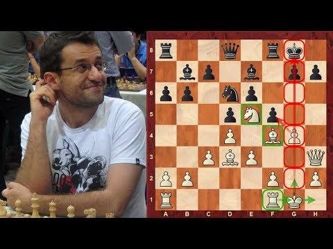 Amazing chess game: Levon Aronian vs Sharma del Hemant : Tradewise Gibraltar (2018) :Sarratt Attack