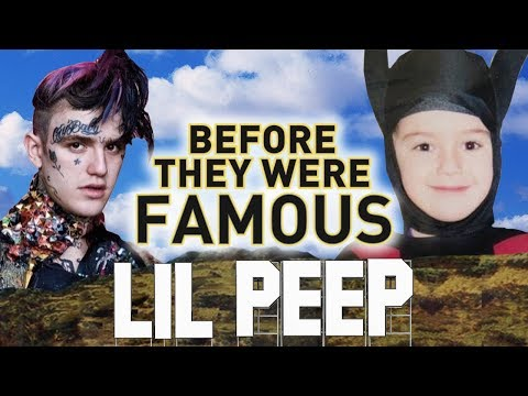 LIL PEEP - Before They Were Famous - Benz Truck