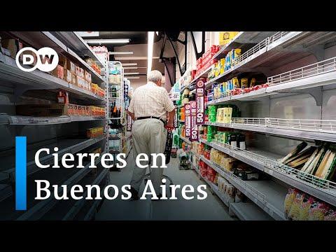 40 mil comercios cerrados en Argentina