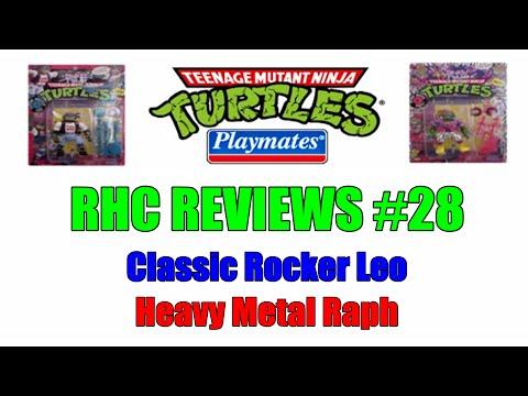RHC Reviews #28 - Classic Rocker Leo and Heavy Metal Raph