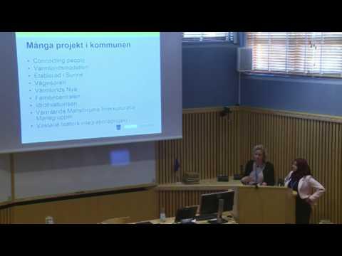Föreläsning 2 - Snabbare etablering på arbetsmarknaden - Sunne kommun