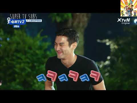 [ENG]SUPERTV S2 EP12-SIWON GIFT TO RYEOWOOK,SUJU JEJU DINNER AND RYEOWOOK CUTENESS