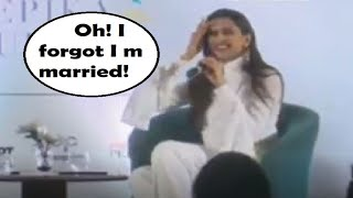 Deepika Padukone had to be reminded that she is married, s..