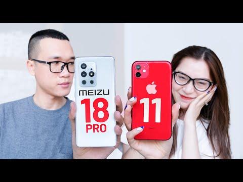 Meizu 18 Pro rất ngon, nhưng mua thì vẫn chọn iPhone 11 thôi!