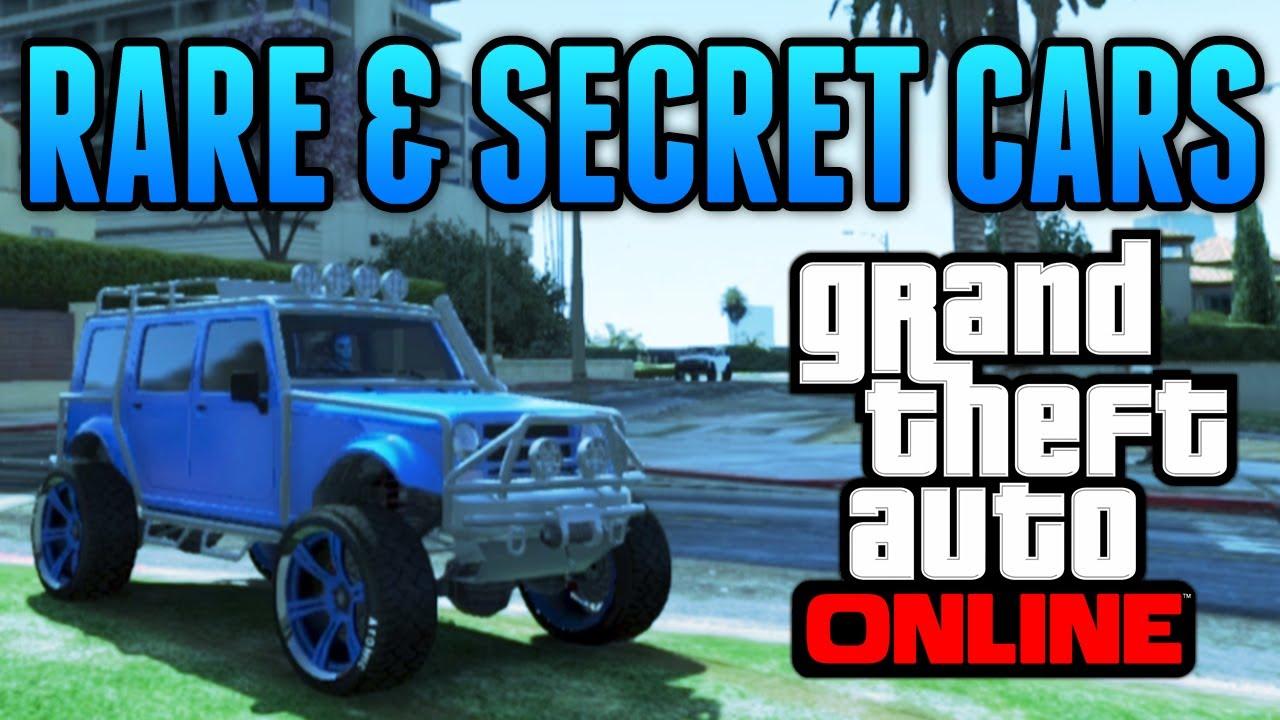 Rare & Secret Vehicles Online Locations! (GTA 5