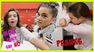 MOM CAN'T SAY NO TO SICK DAUGHTER / WE PRANKED  EMILY   SISTER FOREVER