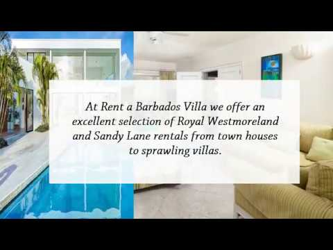 Sandy Lane and Royal Westmoreland Villas on the Beach Barbados