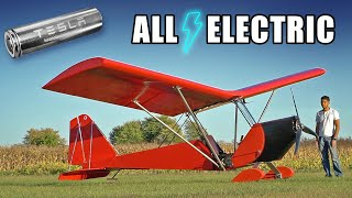 Homemade Electric Airplane MK4