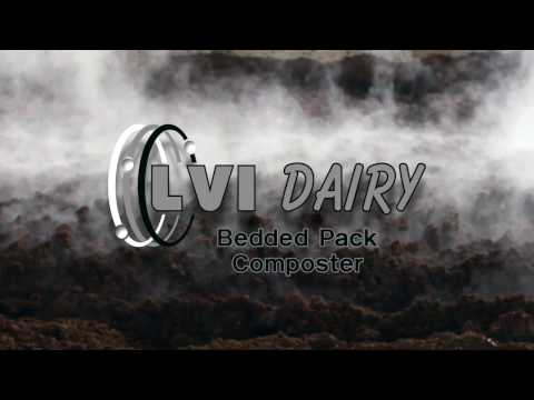 LVI Dairy Bedded Pack Composter with Rippers