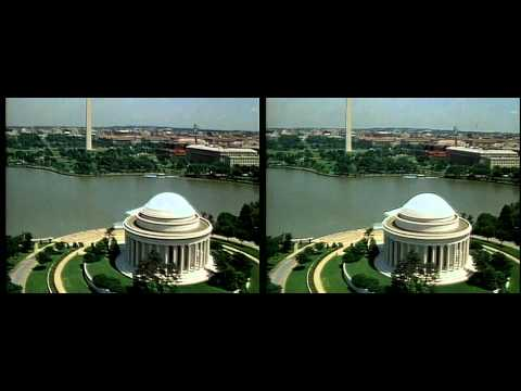 National Mall and White House Fly Over in 3D HD yt3d:enable=true