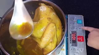 Cách làm gà chưng nước mắm ngon tuyệt!