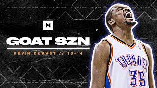 Kevin Durant's HISTORIC MVP Season In 13-14! 32ppg | GOAT SZN