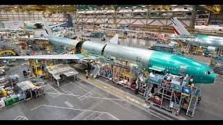 Boeing Everett Factory - Worlds Biggest AirPlane Building Documentary