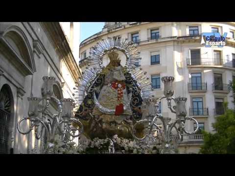 Procesión de la Virgen de la Cabeza por el Pregón de las Glorias