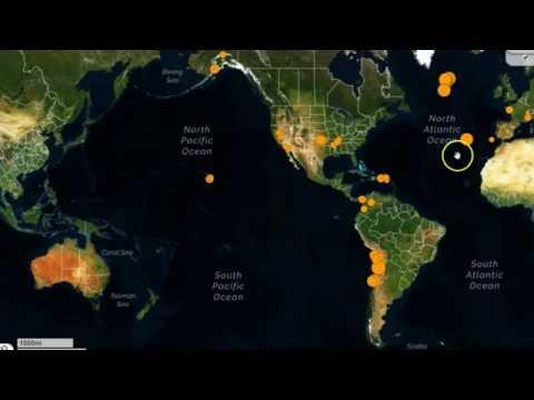 Earthquake Swarm Hits Northern Mid-Atlantic Ridge, New Madrid Quake Activity