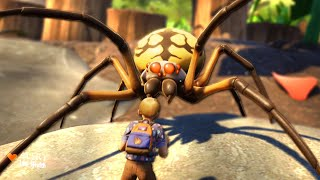 If You're Scared of GIANT SPIDERS, Don't Watch This Video... | Grounded #2