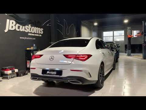 Mercedes-Benz CLA C118 Gasolina con nuestro sistema completo JB Customs