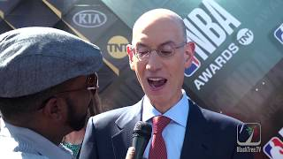 NBA commissioner Adam Silver on 'Summer of LAbron' and player protest