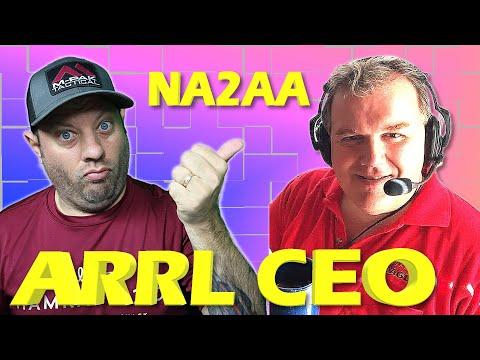 ARRL CEO David Minster NA2AA Ham Radio Interview