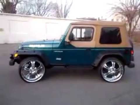 jante jeep wrangler tj