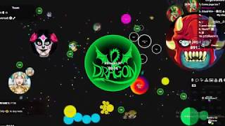 Agario - South America - Best moments #6 - FFA and Experimental - Recopilation - By Dragon 97