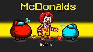 *NEW* MCDONALDS IMPOSTOR ROLE in AMONG US!