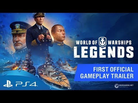 World of Warships: Legends | First Official Gameplay Trailer | PS4