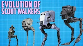 Evolution of the Recon Walker