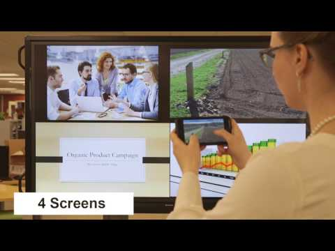 BYOD Takes on a Whole New Meaning with the Wireless AQUOS BOARD® Interactive Display System