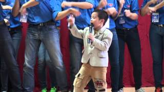 Ca si nhi Hoang Ky - Con Buom Xuan - Trung tam Sao Mai