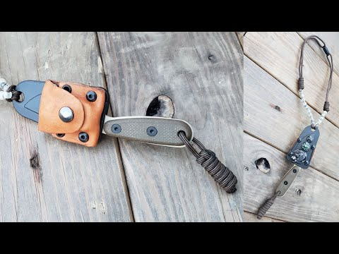 ESEE Rowen Izula Survival Neck Knife