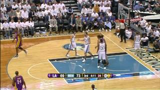 03 09 2012   Lakers vs  Timberwolves   Team Highlights