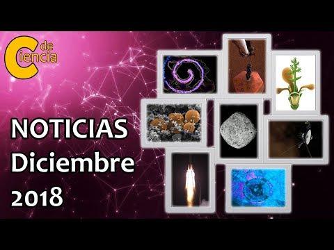 Noticias científicas diciembre 2018