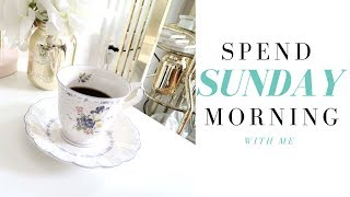 Spend Sunday morning with me| Relaxing Sunday Morning | Plan to Shine