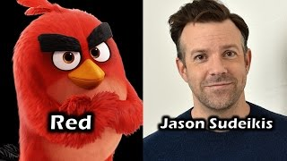 Characters and Voice Actors - The Angry Birds Movie