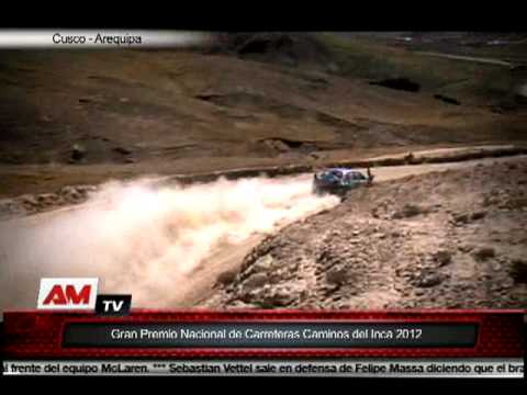 Resumen de las tres últimas etapas de Caminos del Inca 2012