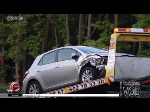 Wypadek na Trasie Średnicowej w Grudziądzu