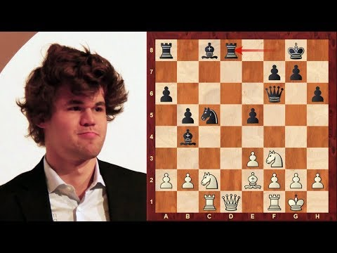Aggressive Chess Fortress and positional Queen Sac! : Magnus Carlsen vs David Navara - Biel 2018
