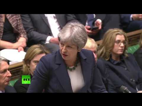 LIVE: Theresa May holds PMQs after Tory MPs sign hard Brexit letter