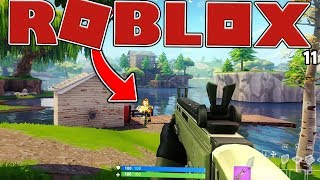 THE SMALLEST GAME IN HISTORY? - ROBLOX FORTNITE BATTLE ROYALE (ISLAND ROYALE) #2