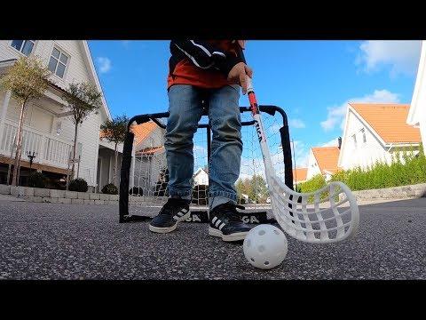 STIGA Floorball in the street
