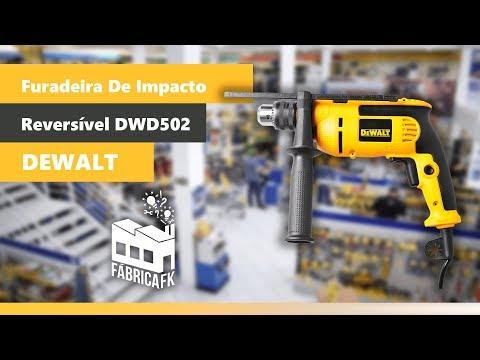 Furadeira de Impacto Reversível 710W Dwd502B2 Dewalt 220V - Vídeo explicativo