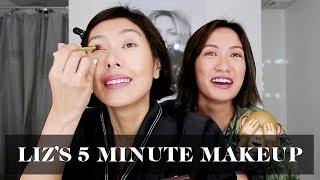 Liz Uy's 5 Minute Makeup Routine | Laureen Uy