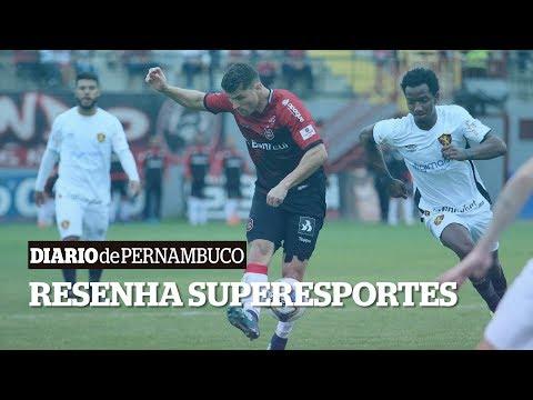 Resenha SuperEsportes: Empate do Sport, planos do Náutico e bastidores do Santa Cruz