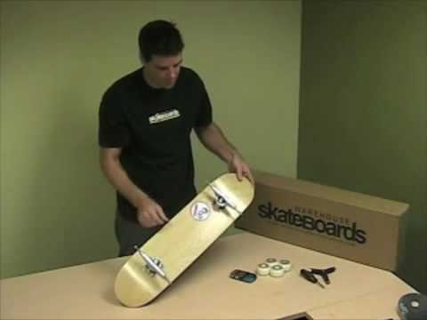 How to Build Your Own Skateboard DIY Complete Skateboard